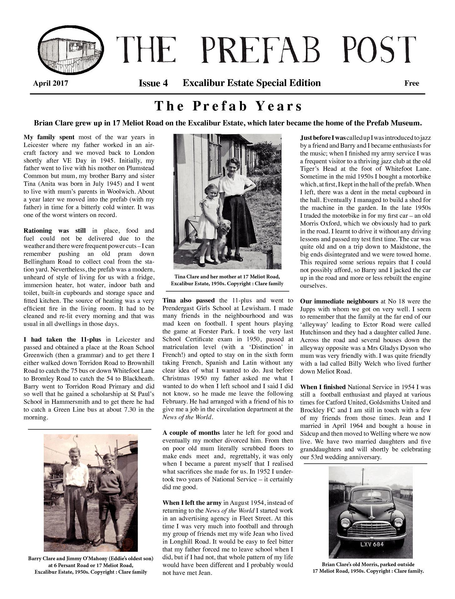 Moving Prefab: Prefab Post Issue 4