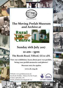 Rural Life Centre. 16 July 2017