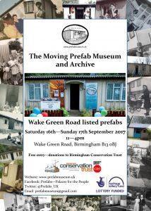 Wake Green Road, 16-17 September 2017
