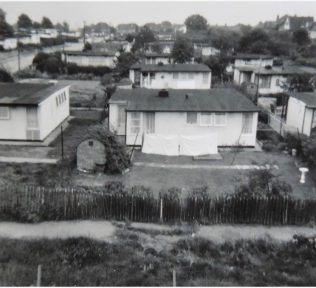 American UK100 prefabs at Clement Road, Willesden | Irene Ottaway