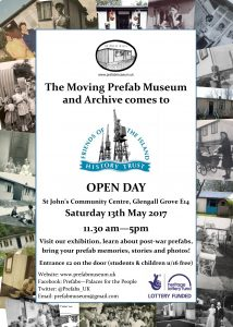 Friends of the Island History Trust Open Day 13 May 2017