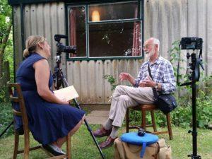 interviewing John Green