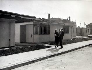 Uni-Seco prefabs in Hale Street, Poplar, London | ARG archive
