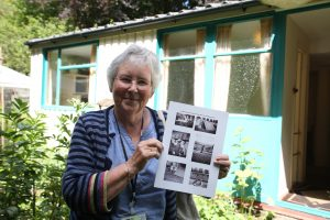 Judy, who grew up in a prefab in Eastbourne