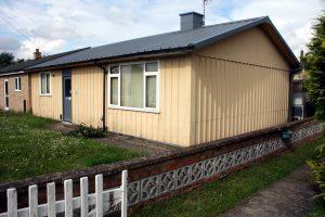 Hawksley BL8 aluminium semi-detached bungalow, Cambridgeshire