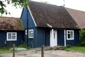 Swedish timber dormer bungalow, semi-detached, Cambridgeshire