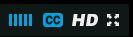 Vimeo captions - click the CC icon and choose English Language