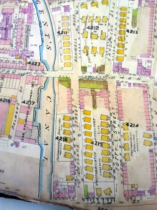 Prefabs map Mile End Park   Carolyn Clark