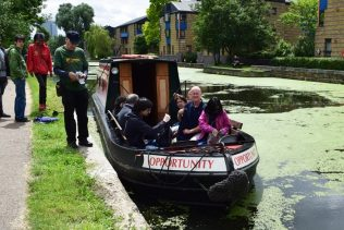 Regents Canal boat trips. East End Canal Festival, June 2016 | Jim Ives