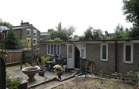 Moving Prefab exploration - a prefab in south London