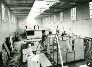 Seco Mark 2 building with a Mark 3 being built inside