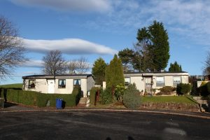 Travelling the UK, photographing prefabs. Paisley, Scotland