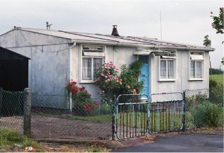 Aluminium bungalow in Charlton Road, Bristol. Photo July 1987 | ARG archive