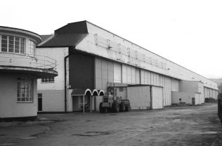 Part of the Brockworth shadow factory that is now demolished   ARG archive