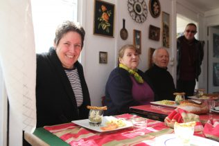 Lunch with Memoire de Soye members in the UK100 kitchen | Elisabeth Blanchet