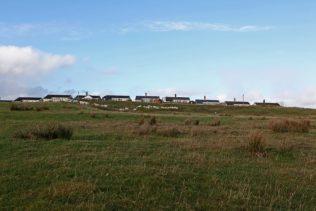 Phoenix Isle of Lewis type prefabs, Plasterfield, Stornoway, Lewis, Scotland, October 2012 | Elisabeth Blanchet