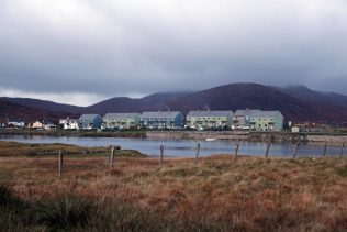 Swedish Houses in Leverburgh, Harris, Scotland, October 2012 | Elisabeth Blanchet
