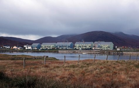 Prefabs in the Outer Hebrides
