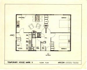 Arcon MkV floor plan (archive Susan Wright)