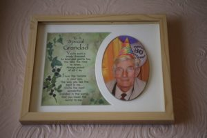 Special granddad, 80th birthday