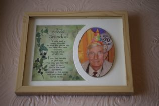 Special granddad, 80th birthday. John De'Ath, south London | Prefab Museum