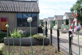 Prisoner of war mess huts. Eden Camp Museum. Malton, North Yorkshire. | Prefab Museum