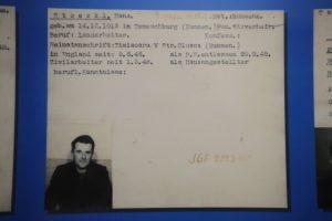 Prisoner of war ID card
