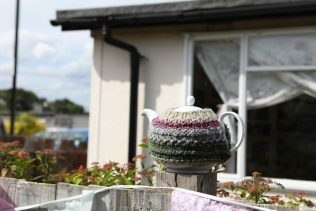 Tea pot outside 17 Meliot Road | Elisabeth Blanchet