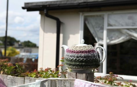 A cup of tea at The Prefab Museum by Keara Stewart