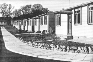 Prefabs on Pilgrilms Way, Wembley | Brent Museum and Archives