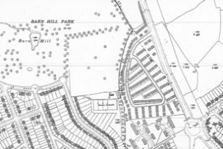 Map of prefab estate, Pilgrims Way. Wembley | Crown copyright Ordnance Survey