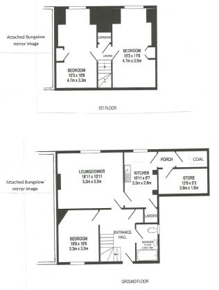 Swedish dormer bungalow floor plan | Neil Midgley
