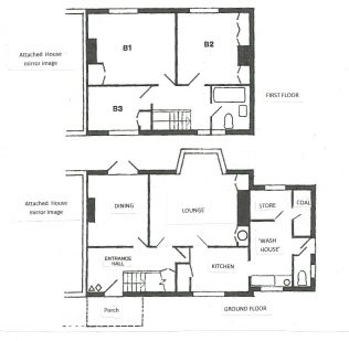 Swedish House floor plan | Neil Midgley