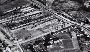 Aerial photo of Alexander Road, Bocking, Essex   Mike Bardell/Simmons Aerofilms