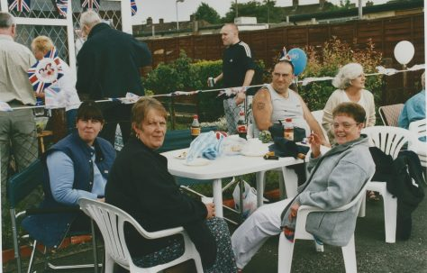 VE Day party 2005 on the Excalibur Estate