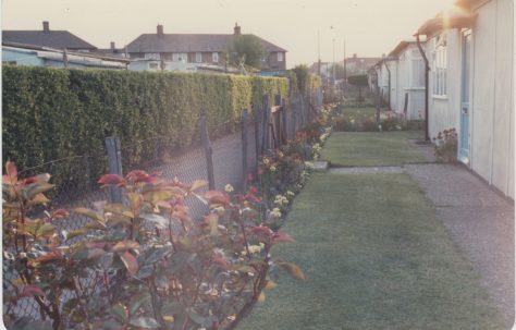 LW Rich's prefab garden on the Excalibur Estate
