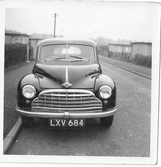 The Clare family's Morris Minor car on Meliot Road, SE6 | Hearn,Jane