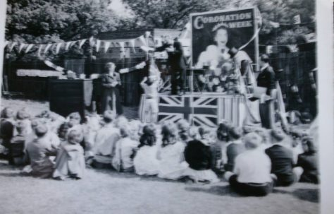 Coronation party at Lower Jackwood Close, Eltham