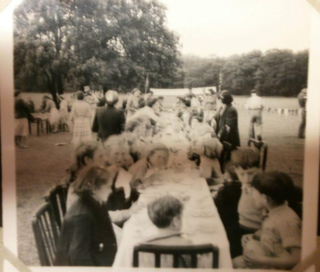 Coronation party at Lower Jackwood Close, Eltham