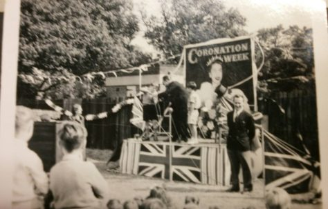 Coronation party, Lower Jackwood Close, Eltham