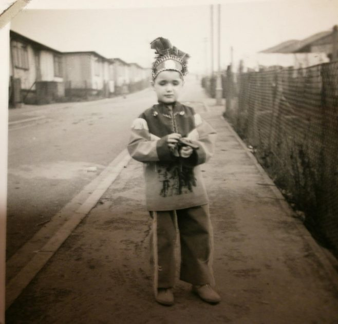 Small boy in Native American fancy dress | Hearn,Jane