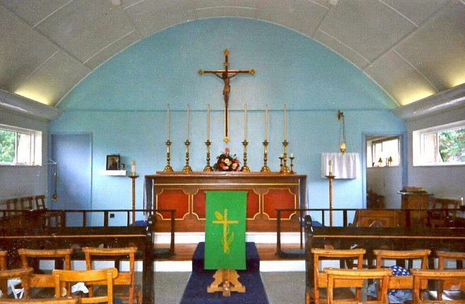 Interior of St Mark's Church, the