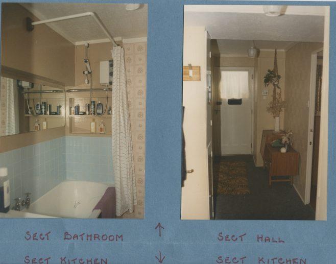Prefab interior, Excalibur Estate | Hearn,Jane