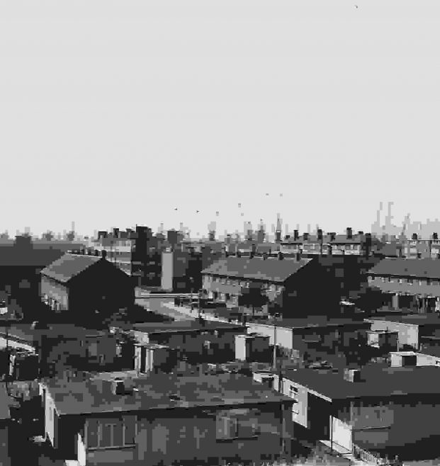 Prefabs taken from the Tower at the First Aid. London, E14