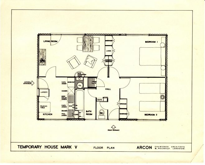 Arcon MkV floor plan | Susan Wright