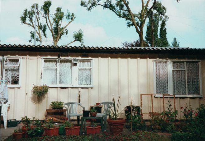 Prefab front garden, 413 Wake Green Road, Moseley