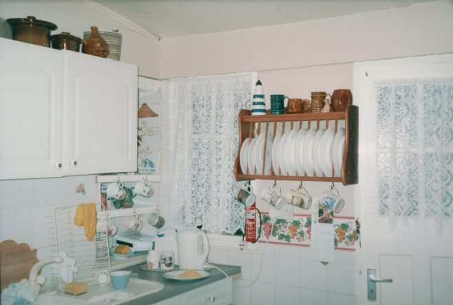 Prefab kitchen, 413 Wake Green Road, Moseley