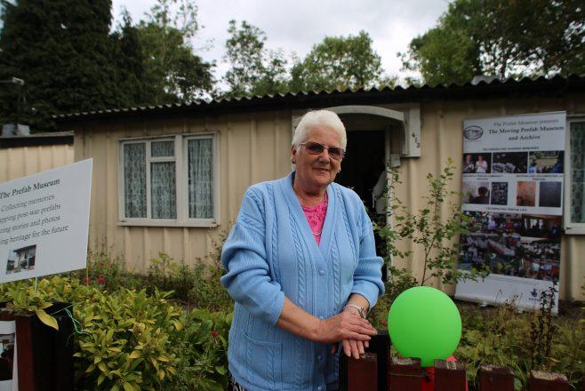 Portrait of Debra Baker at the open weekend 2017. 413 Wake Green Road, Moseley