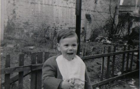 Brother Tony and the bombsite of no 10 Tooke Street, London E14