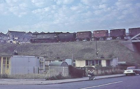 UK100 prefabs, Wolseley Road, Plymouth 1964